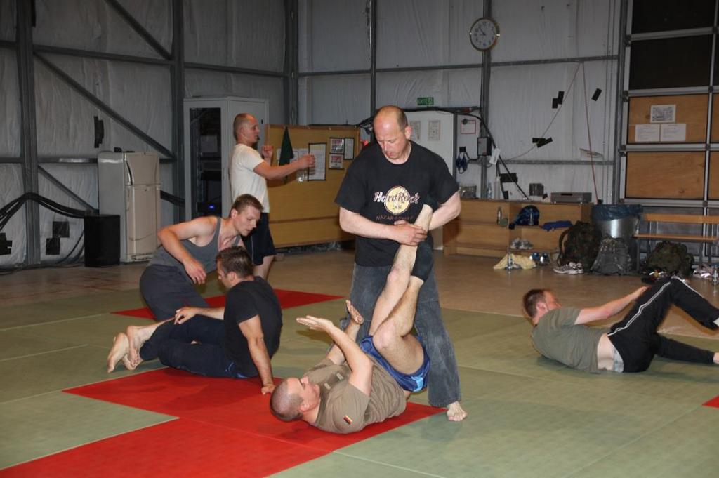 Als SV Trainer bei der Bundeswehr in Afghanistan
