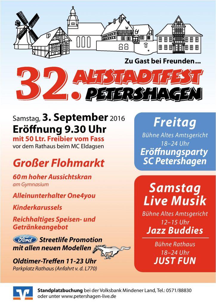 Altstadtfest Petershagen 2016